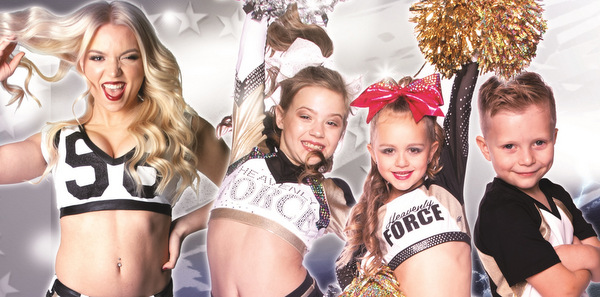 Probetraining bei Heavenly Force: Wer will Cheerleader werden?