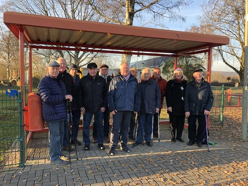 Herren-Turngruppe �Kein Aua� wanderte ins Raiffeisenmuseum
