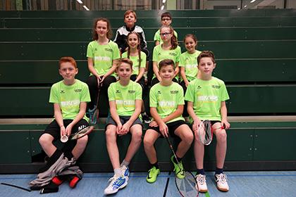 Zum Auftakt ein Doppelspieltag f�r die Badmintonjugend