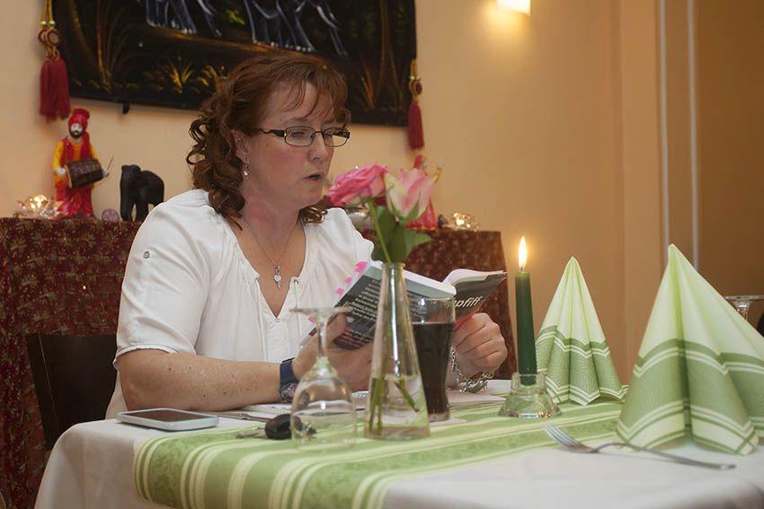 Krimidinner mit Ulrike Puderbach