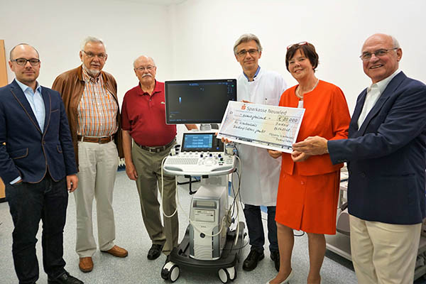 Neues Ultraschallgerät  im Krankenhaus Selters