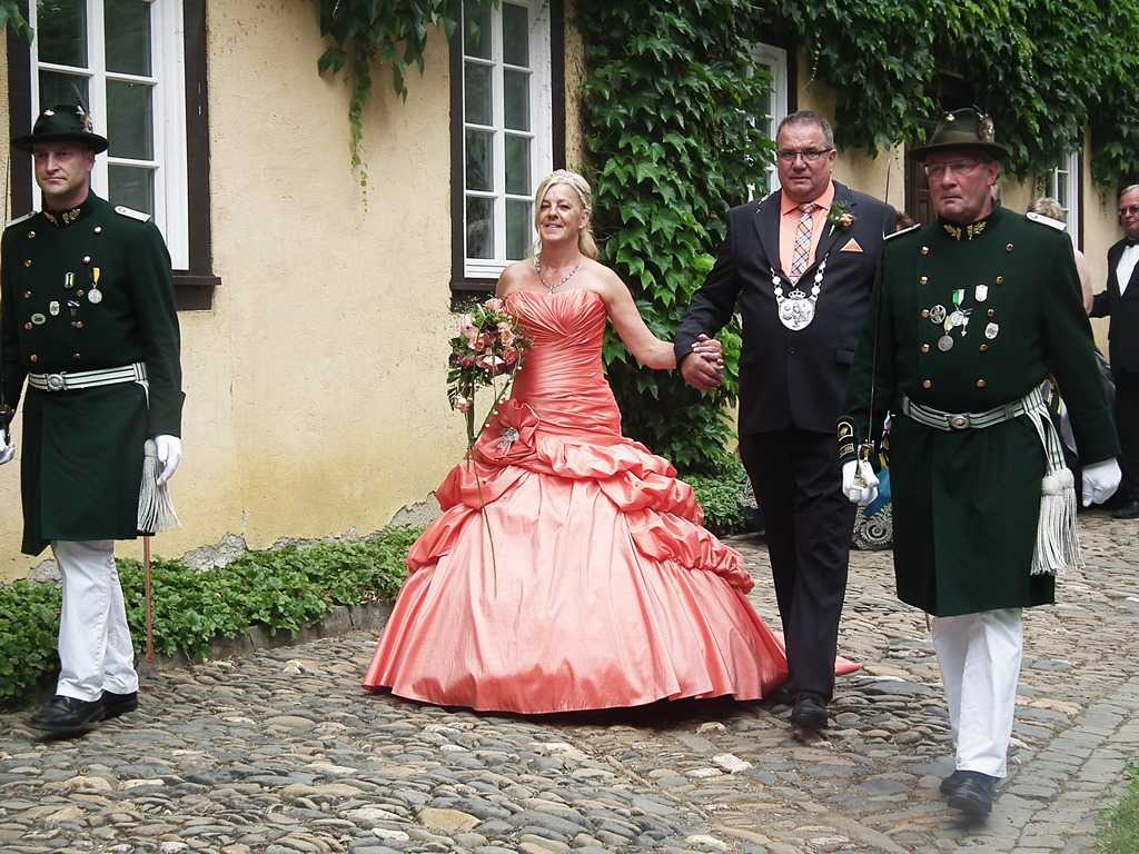 Sch�nsteiner K�nigspaar feiert Sch�tzenfest