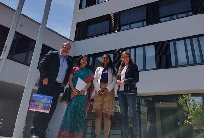 Indische Generalkonsulin an der Uni Siegen zu Gast