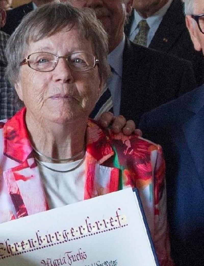 Unkeler Ehrenbürgerin Maria Fuchs ist tot