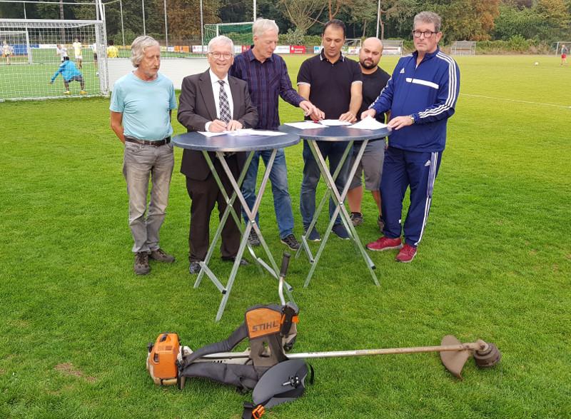 Nutzungsvereinbarung für Sportpark der Stadt Unkel unterzeichnet