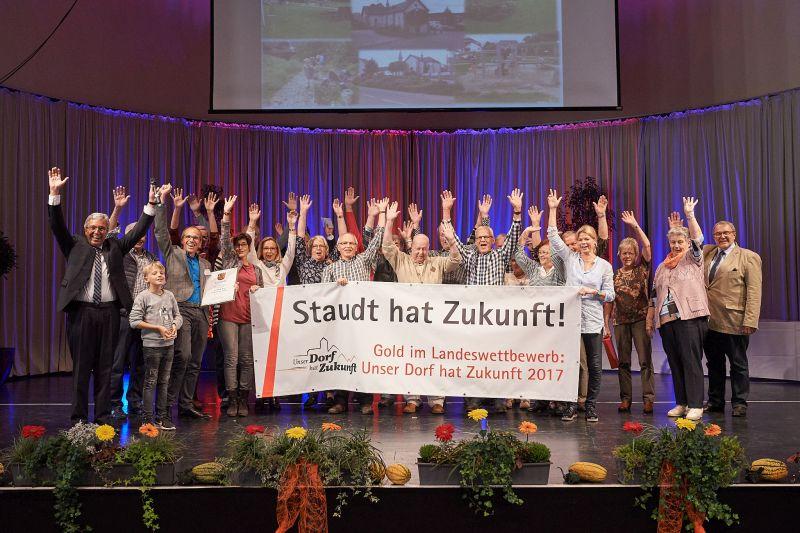 """Gold für Staudt im Wettbewerb: """"Unser Dorf hat Zukunft"""""""