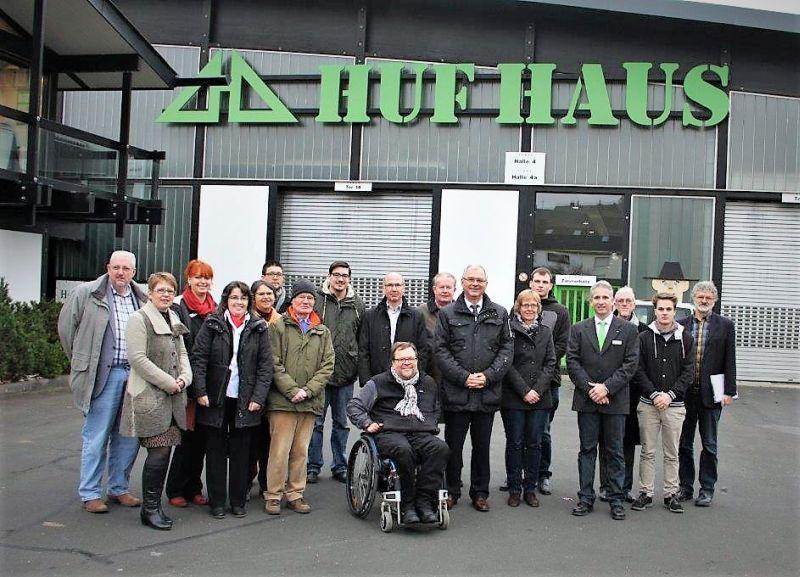 War auch schon Gastgeber einer Unternehmensrundreise: die Firma HUF HAUS in Hartenfels. Fotos: privat