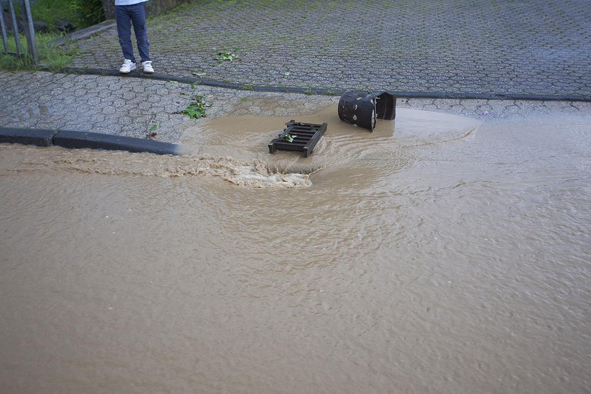 Westerwaldwetter: Starke Regenfälle - bis 200 Liter in zwei Tagen