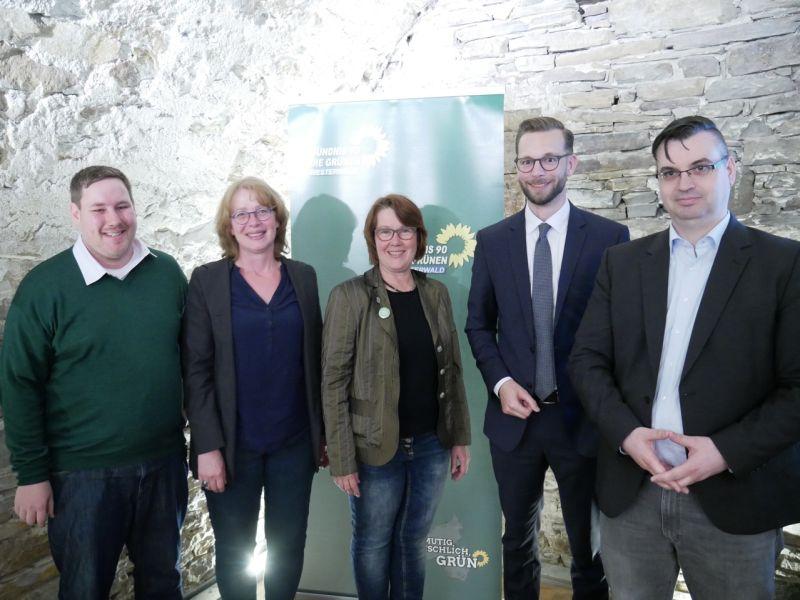 Grüne diskutierten mit Verbandsbürgermeister über Digitalisierung