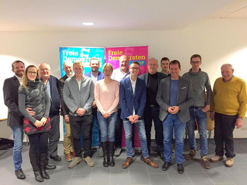 FDP-Team für den VG-Rat Montabaur. Foto: privat