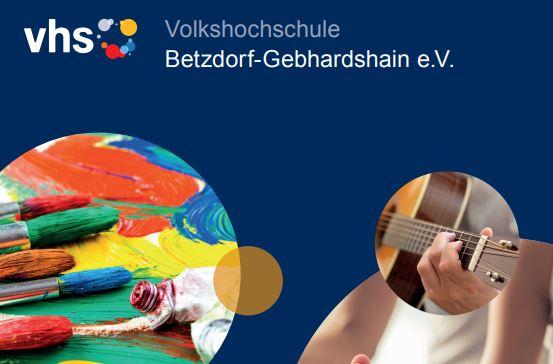 VHS Betzdorf-Gebhardshain e.V. stellt neues Programm vor