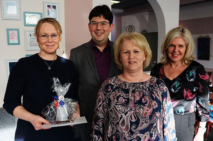 Die neuen Pächterinnen Hildegard Bandus (vorne rechts) und Kamila Adamowicz (vorne links). Foto: Stadt Neuwied