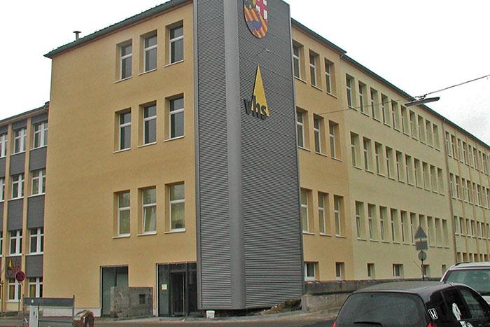 Im Verwaltungsgebäude an der Heddesdorfer Straße stehen einige Umzüge auf dem Programm. Foto: Stadt Neuwied
