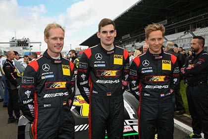 Platz 4 f�r Luca Stolz auf dem N�rburgring
