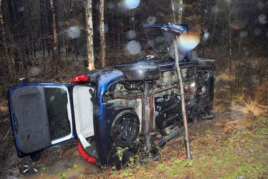 Zwei Verletzte bei Unfall auf der L 276