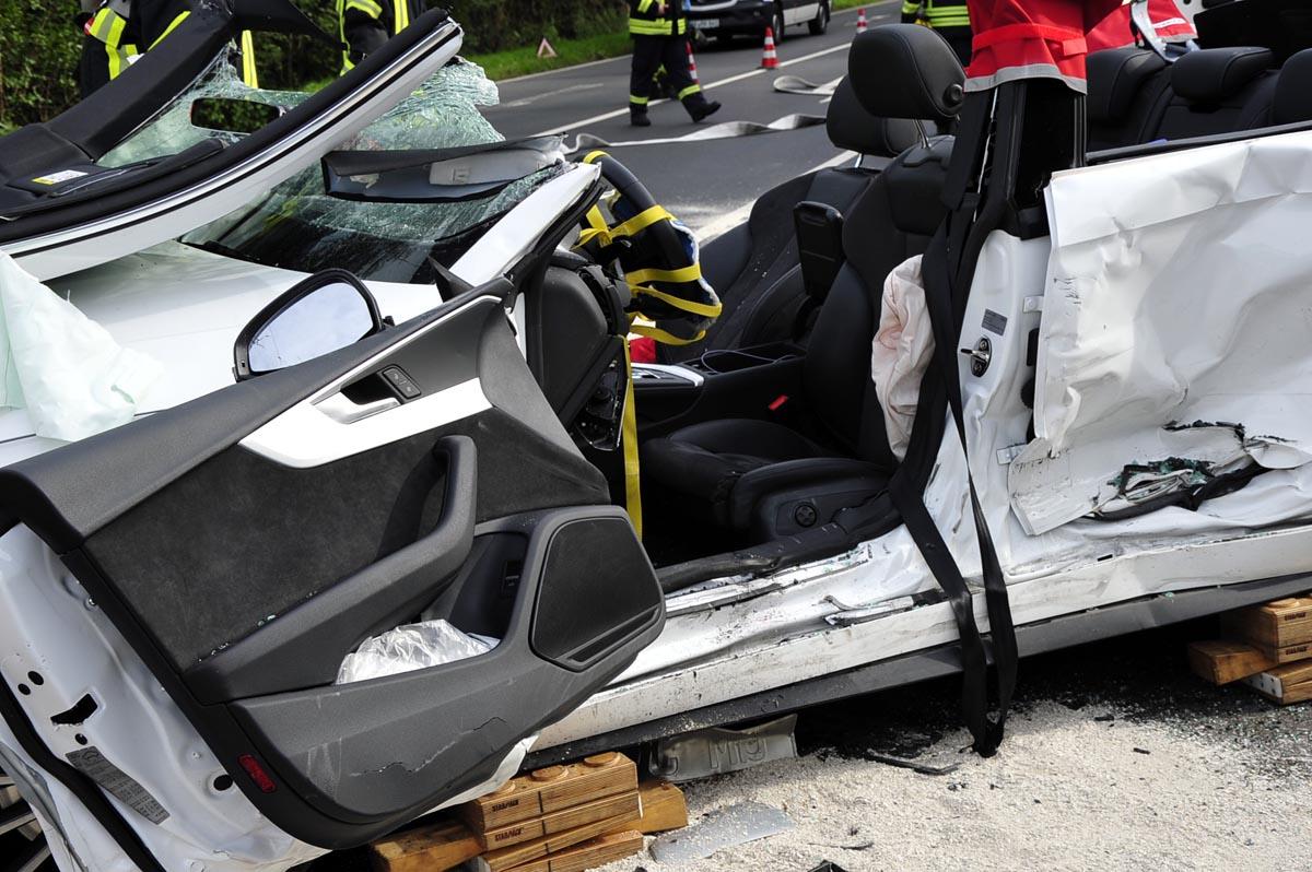 Verkehrsunfall in Wissen-Stöcken: Zwei Personen wurden verletzt