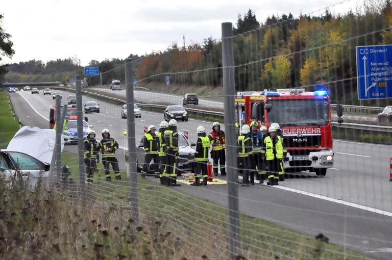 Unfall Auf Der A3 Forderte Zwei Schwerverletzte Nr Kurier De