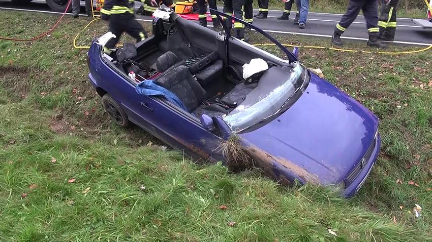 Schwerer Unfall bei Hölzenhausen