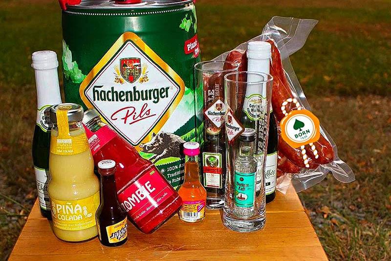 Ein Blick auf das Partypaket. Foto: privat