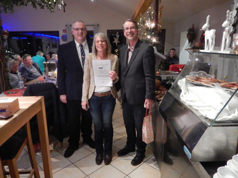 VdK Ortsverband Heimbach-Weis/Gladbach feierte Weihnachtsfeier