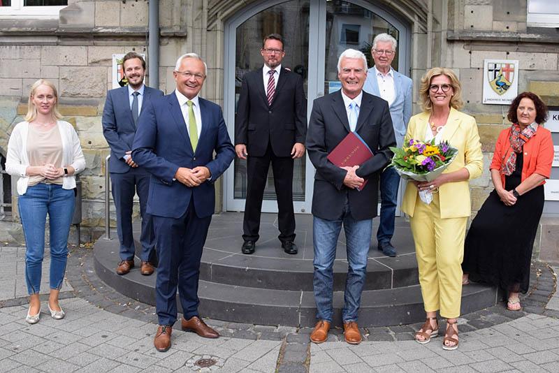 Stellvertretender Kreiskämmerer Werner Meurer ist nun Pensionär