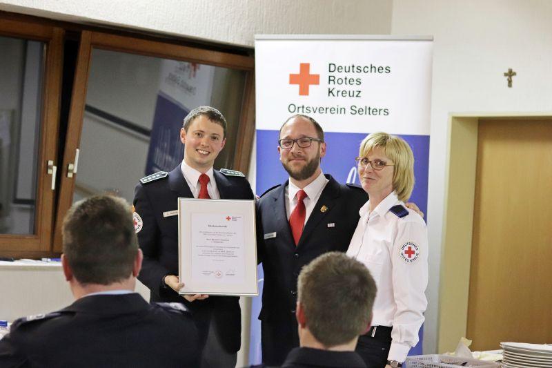 Gabi Zender leitet Rotes Kreuz in Selters