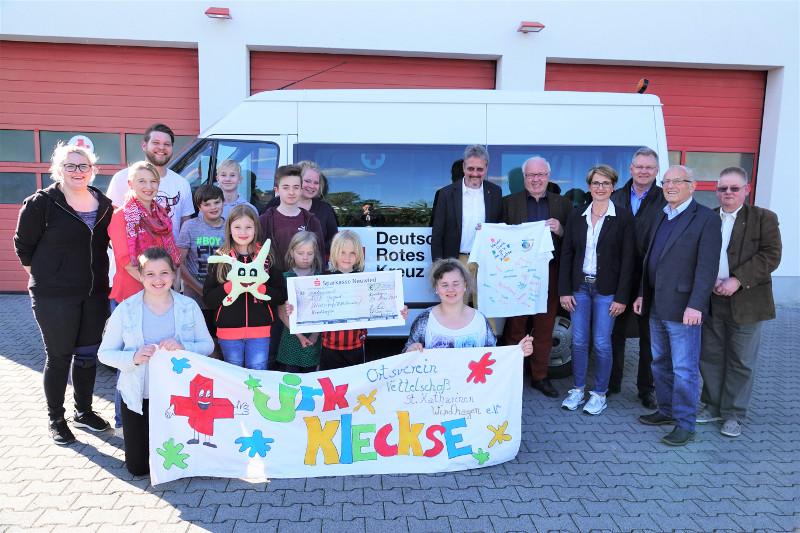 Lions Club Rhein-Wied unterstützt junge Sanitäter