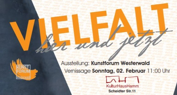 Kunstforum Westerwald stellt im Kulturhaus Hamm aus