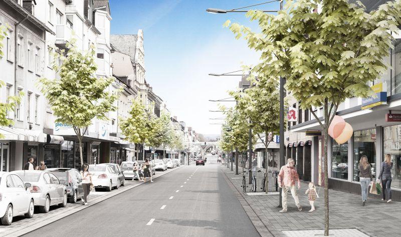 Arbeiten in der Marktstraße beginnen