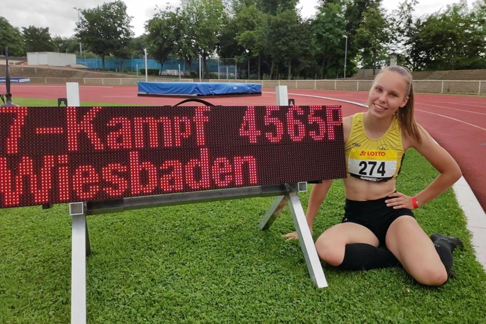 Athletin Vivien Ließfeld Waldbreitbach startet durch