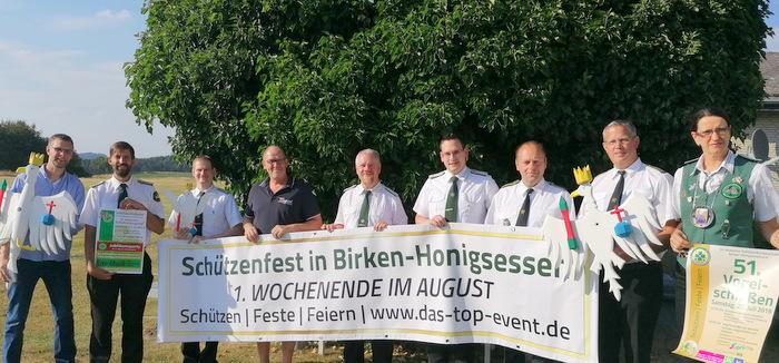 Vogelschie�en in Birken-Honigsessen: Wer folgt auf Karin Hake?