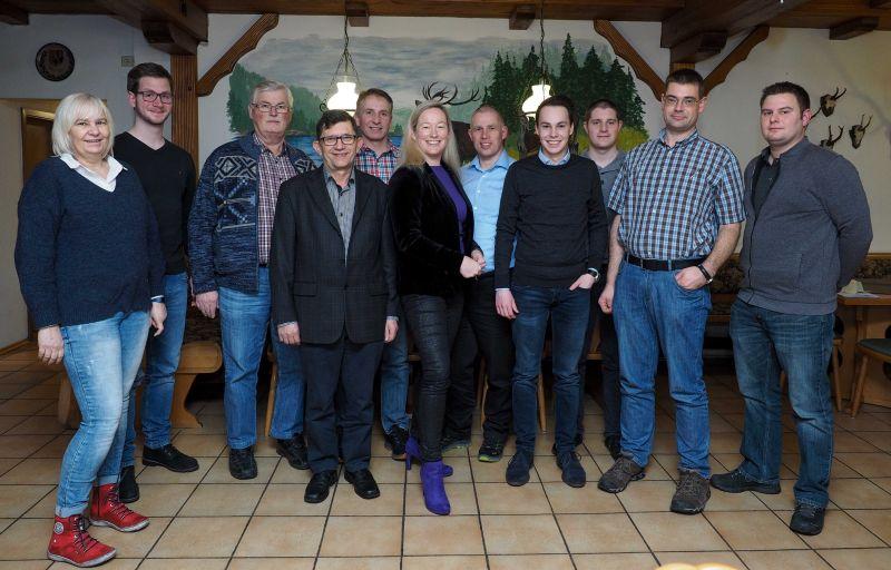 CDU Ortsverein Selters: Neue Vorsitzende mit verjüngter Mannschaft