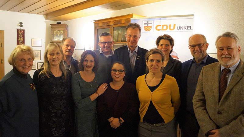 Wolfgang von Keitz ist neuer Vorsitzender der CDU Unkel