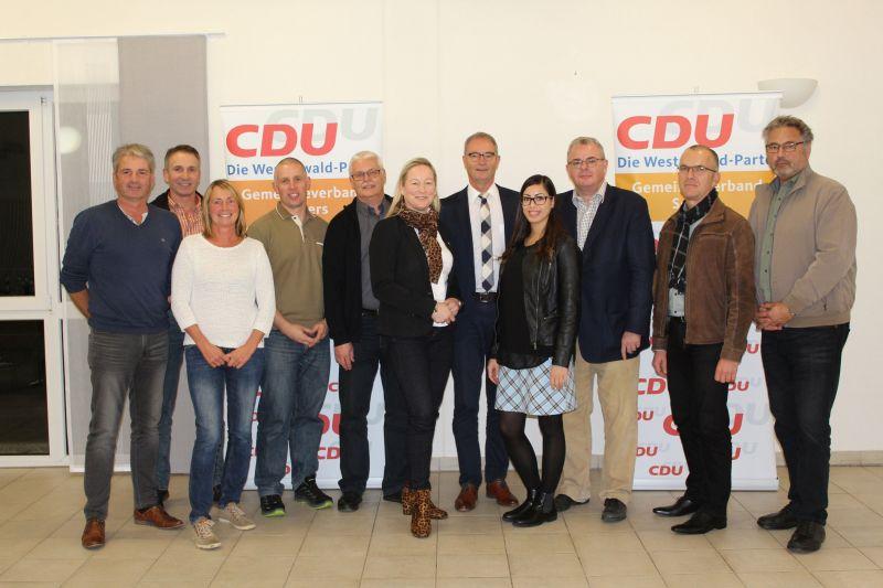 CDU der Verbandsgemeinde Selters wählte neuen Vorstand