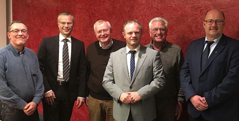 Deichförderverein: Vorstand einstimmig wiedergewählt
