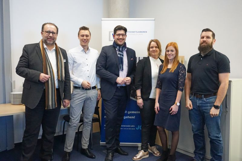 Die Wirtschaftsjunioren Westerwald-Lahn: Neuer Vorstand