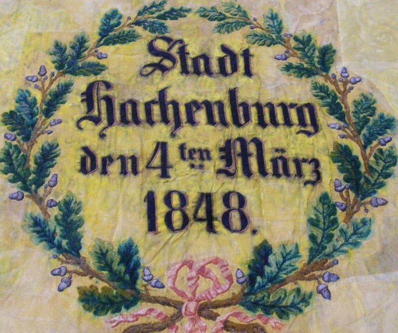 Die Revolution von 1848/49 in Hachenburg und im Westerwald