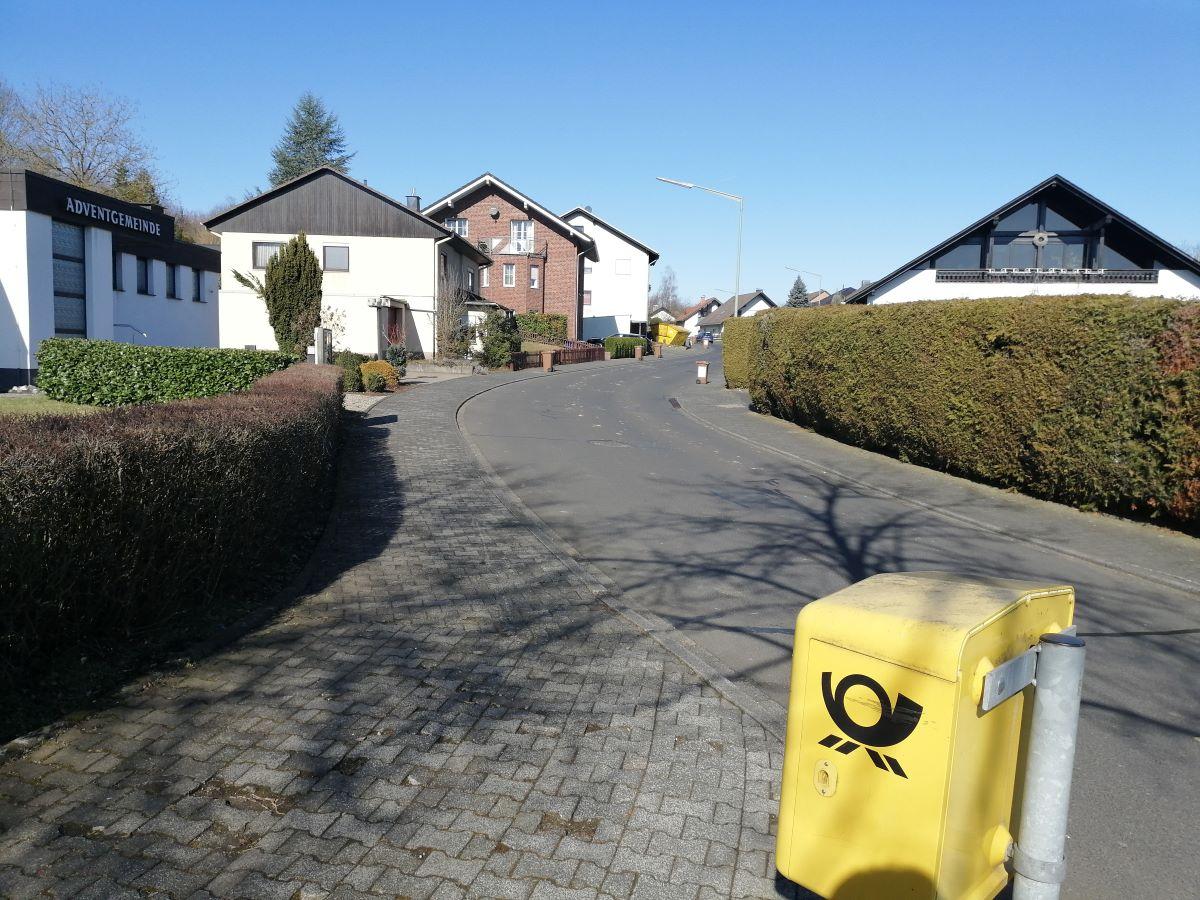 Auch in der Schillerstraße in Altenkirchen werden sich die Bauarbeiten für die Verlegung der neuen Wasserleitung bemerkbar machen. (Foto: vh)