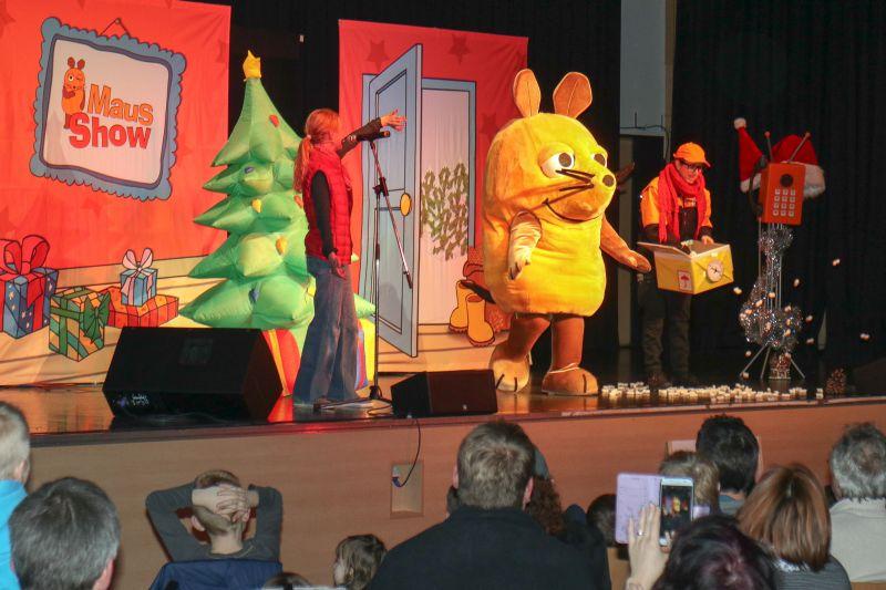 Weihnachten mit der WDR Maus in Windhagen