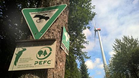 BI Wildenburger Land informiert zu Windenergieanlagen an der Landesgrenze