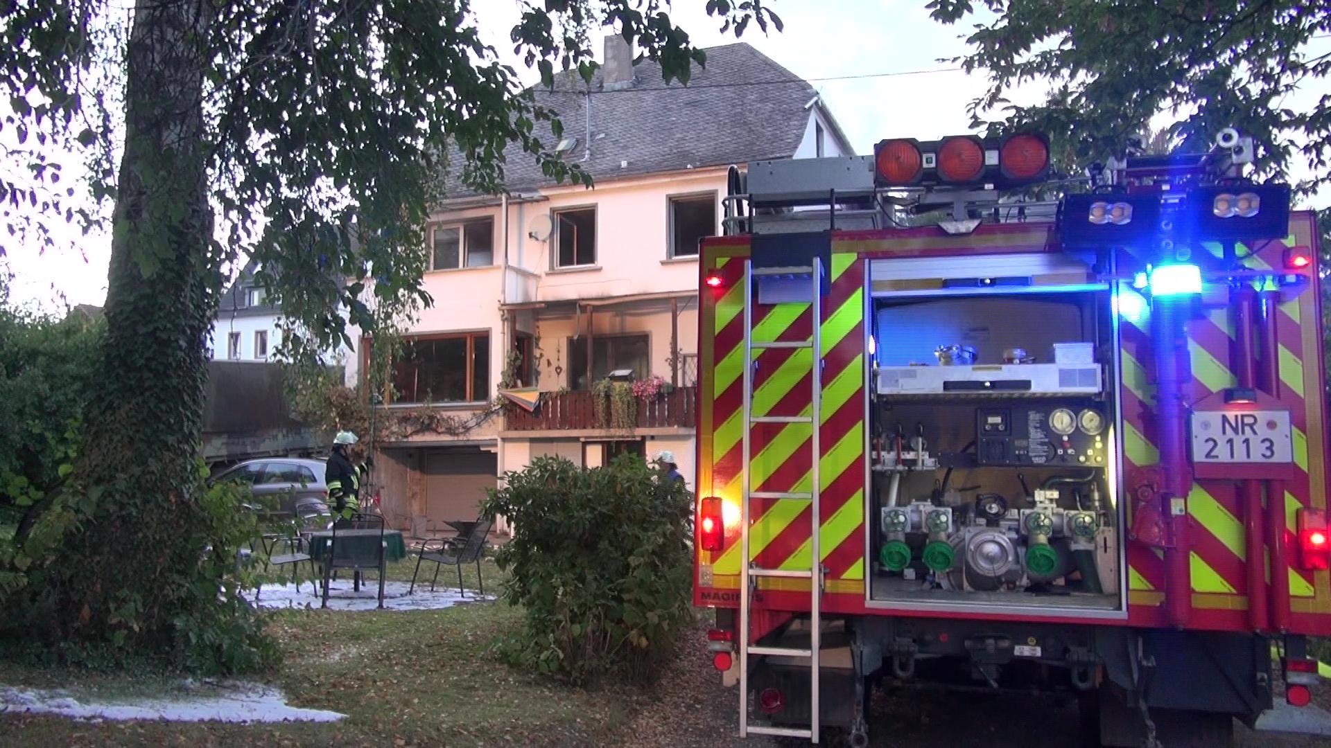 Wohnhausbrand in Dierdorf