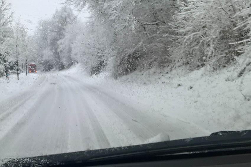 Polizei-Bilanz der winterlichen Wetterlage