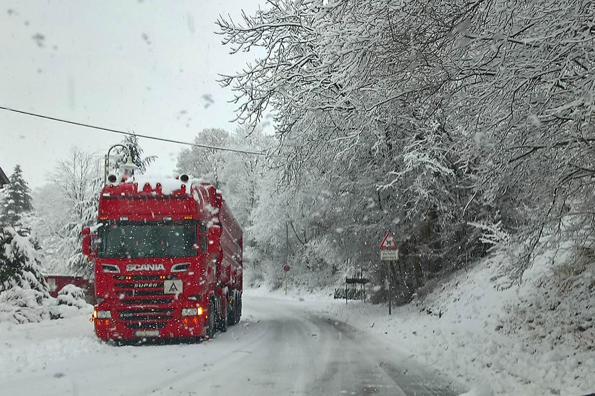 Warnung vor Schnee und Eisregen am Wochenende im Westerwald