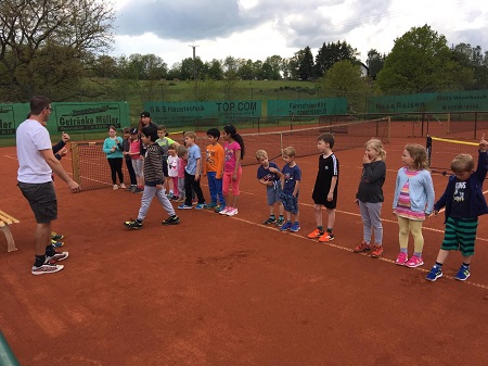 Tennisabteilung des WSN lud zum Schnuppertag ein