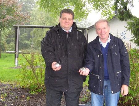 Westerwald Bank unterstützt Horhausener Boulefreunde