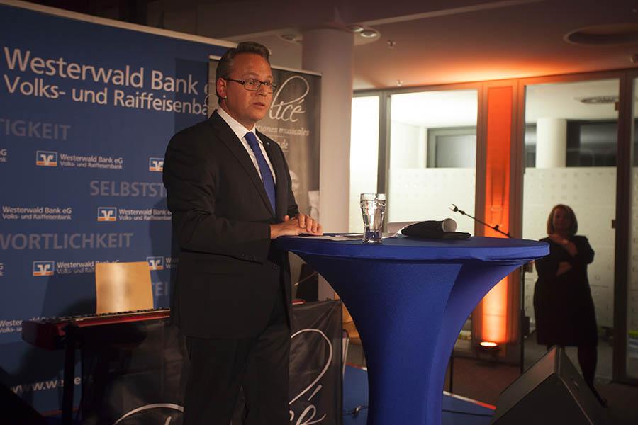 Westerwaldbank lud zum Adventsempfang