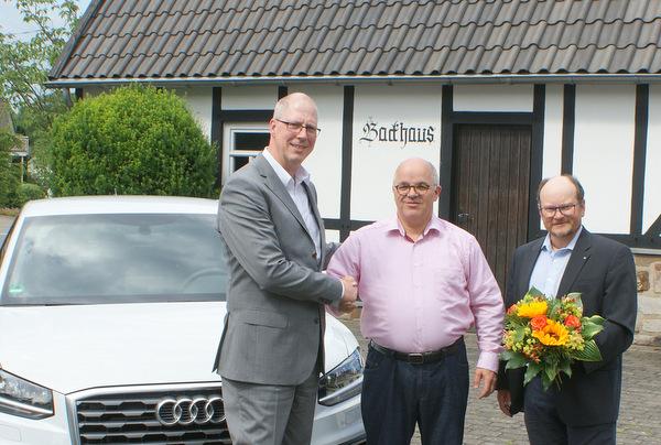 Volltreffer: Gewinnsparen beschert Wilfried Bördgen einen neuen Audi