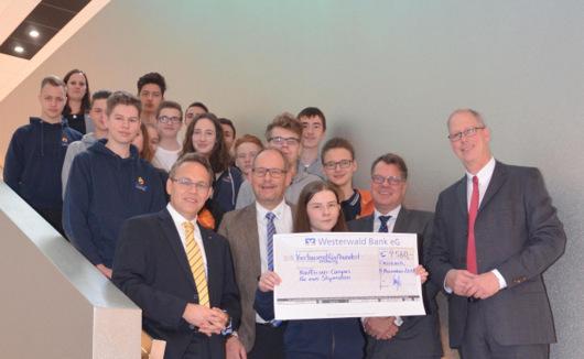 Stipendium: 4.560 Euro für den Raiffeisen-Campus