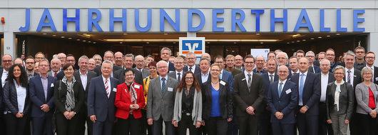 Westerwälder Unternehmer beim Wirtschaftstag in Frankfurt