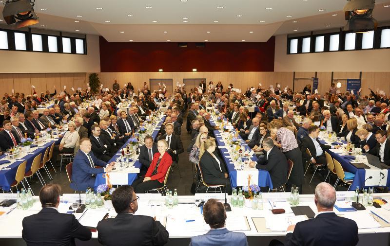 So war die Vertreterversammlung in diesem Jahr nicht möglich. Archivfoto: WW-Bank